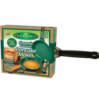 HB Flip Jack Ceramic Green Non-Stick Pancake Maker - 4
