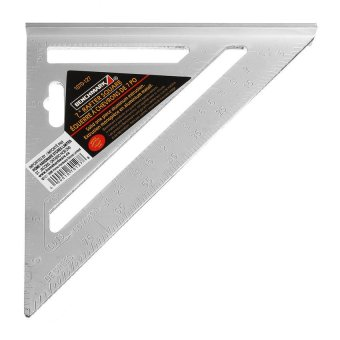 HDL 7inch Silver Aluminum Alloy Speed Square Roofing TriangleAngleProtractor Try Square Carpenters Measuring Layout Tool Price Philippines