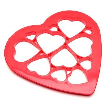 Heart Shape Cookie Cutter (Red)