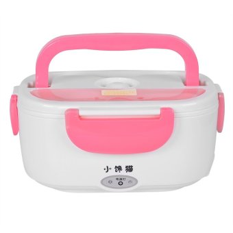 Heat Preservation Electric Lunch Box (Pink)