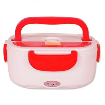 Heat Preservation Electric Lunch Box (Red)