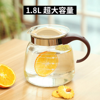 Heat-resistant explosion-proof cool water pot glass kettle
