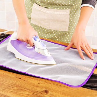 Heat Resistant Ironing Cloth Protective Insulation Pad-hot HomeIroning Mat Mesh White 40*60cm - intl - 2
