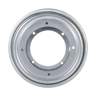 Heavy Duty Round Galvanized Lazy Susan Turntable Bearing RotatingSwivel Plate(Silver) - intl