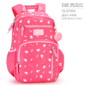 Hello Kitty casual young student's girls girl's children's backpack school bag