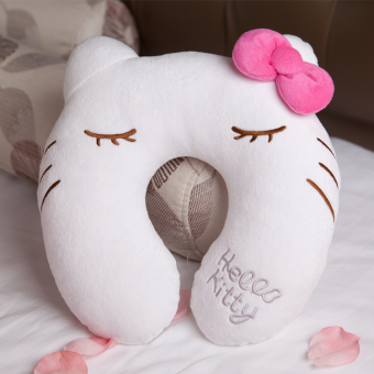 Hello Kitty cute U-shaped pillow neck pillow