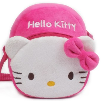 Hello Kitty kindergarten small large class girl's princess children's school bag