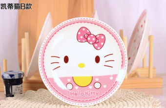 Hello Kitty New style ceramic plate