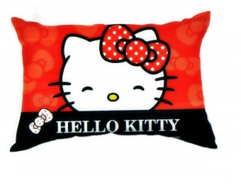 hello kitty red ribbon king size pillow red