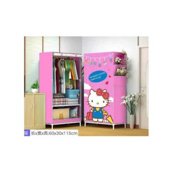 Hello Kitty Single Wardrobe Closet (HK Blue Dress)