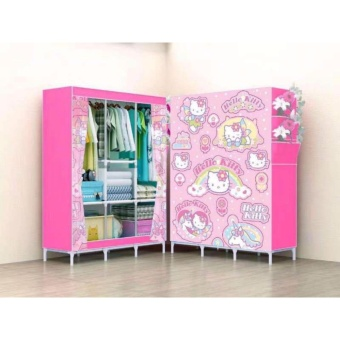 Hello Kitty Storage Wardrobe and Clothes Organizer Price Philippines