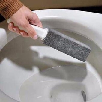 HengSong 2PCS Natural Pumice Stone Toilets Dead Gap Brush SinksBathtubs Cleaner - intl