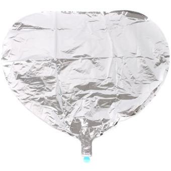 Hengsong Heart Balloon (Silver)