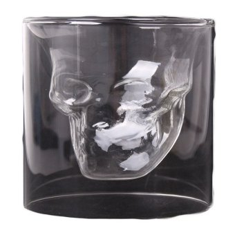 HengSong Skull Glass Shot (Black)