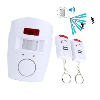 HETU Wireless Household Security Intruder Alert Alarm System with PIR Motion Sensor