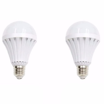Hi-Q Sonic LED Emergency Rechargeable Bulb 12 Watts Set of 2 Price Philippines