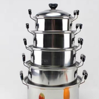 High Grade Stainless Steel Combination Series 5 Piece Set
