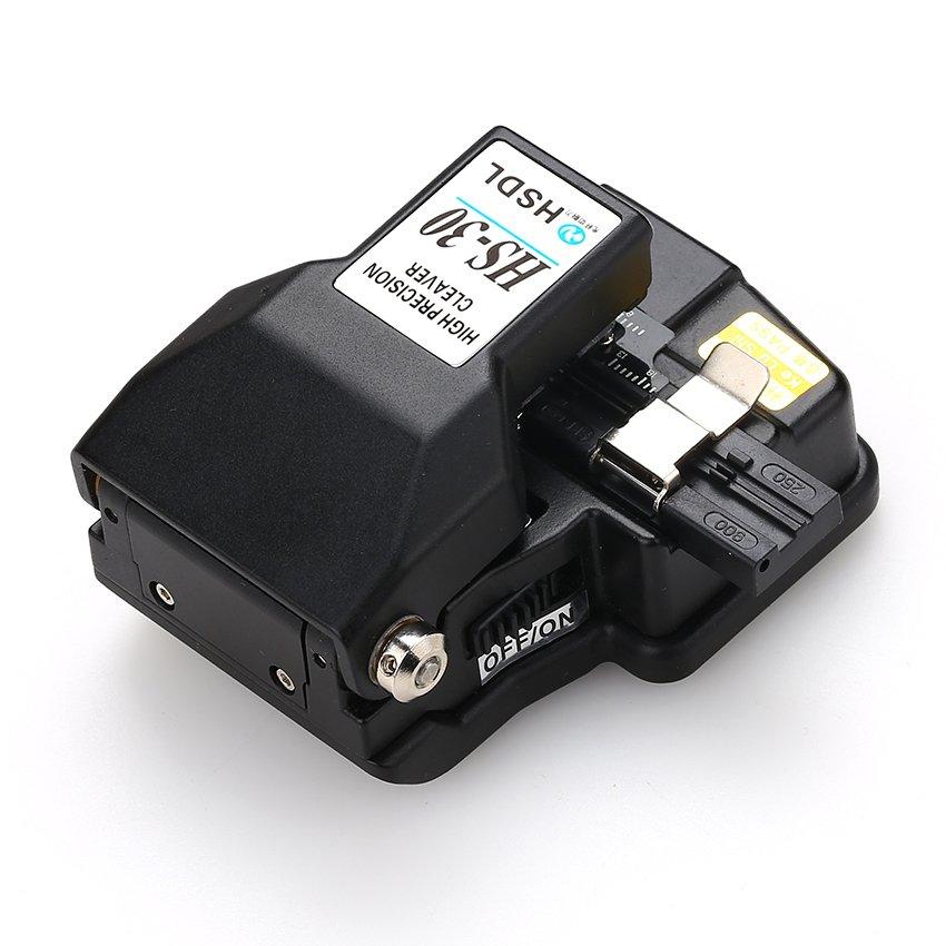 ... High Precision HS-30 Optic Fiber Cleaver Fiber Optics Cutter with48000 Cleaves ...