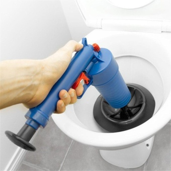 High Pressure Plunger Blaster Air Drain Unclogs Toilets Pump Sinks for Cleanning Toilets - intl