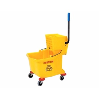 High Quality Commercial Industrial Splash Guard Mop Bucket withSqueezer Wringer