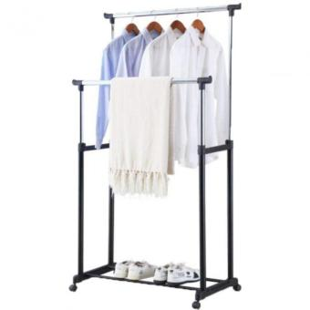 High Quality Double-Pole Clothes Rack (Scalable) Price Philippines