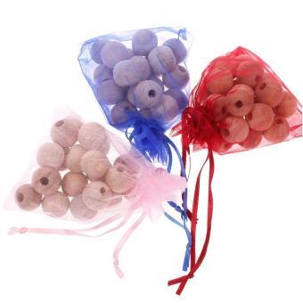 High Quality Store New 20Pcs Cedar Moth Balls Bug RepellentWardrobes 1 Bag - 4