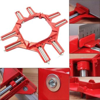 High Quality Store New 90?Degree Right Angle Picture Frame CornerClamp Holder Woodworking Kit Tool