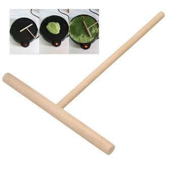 High Quality Store New Crepe Maker Pancake Batter Wooden SpreaderStick Home Kitchen Tool Kit