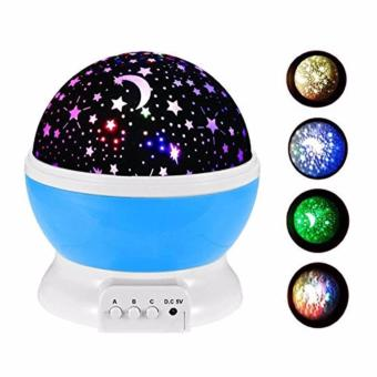 High Quality Sun And Star Lighting Lamp 4 LED Bead 360 DegreeRomantic Room Rotating Cosmos Star Projector With 59 Inch USBCable, Light Lamp Starry Moon Sky Night Projector Kid Bedroom Lampfor Christmas