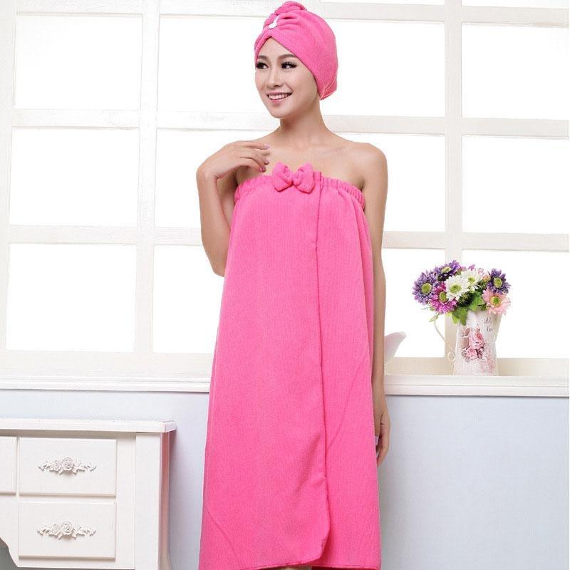 Philippines | High Quality Women Bath skirt Absorbent Shower Body ...