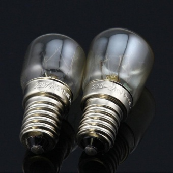 High Tmperature 300 Degree T25 Oven Lamps Light Bulbs 240v SES E14 Home Kitchen - intl