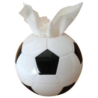 HKS G104887 Creative Football Paper Towel Tube White (Intl)