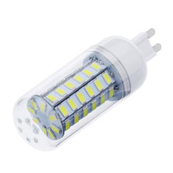 HKS G9 12W 56 LED StripS 5730 Chip SMD Corn Light Bulb Lamp 110-130V (White) (Intl)