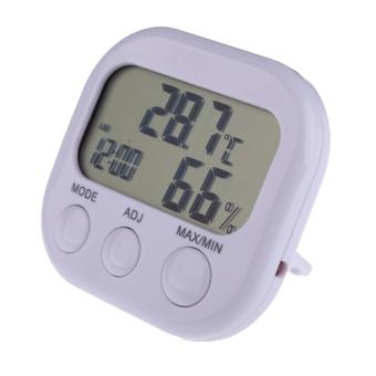 HKS TA698 LCD Digital Clock Thermometer Hygrometer (Intl)