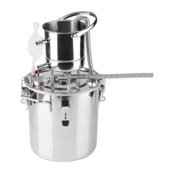 Home Brew Stainless Steel Boiler Alcohol Wine Making Device KitWater Distiller Equipment 10L - intl Price Philippines