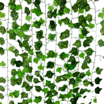 Home Foliage Decor Green Plant Ivy Leaf Artificial Flower PlasticGarland Price Philippines