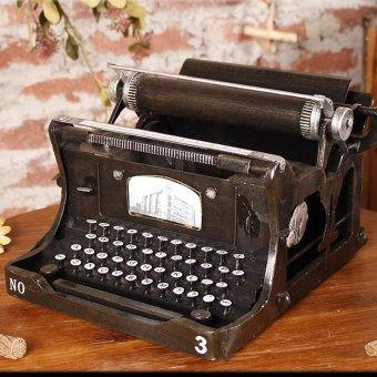 Home furnishings Vintage typewriter for Home Decor Wedding Party -intl Price Philippines