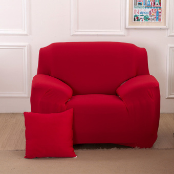 Home Furniture Chair Loveseat Sofa Couch Stretch Protect CoverSlipcover Red 1 Seater