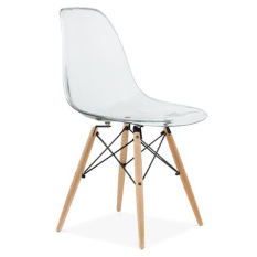 Nice Home Source Eames Style Barnes Doily Chair PC801W (Clear)
