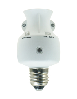 HomeSafe Wireless Lamp Holder with Light Sensor H-423R