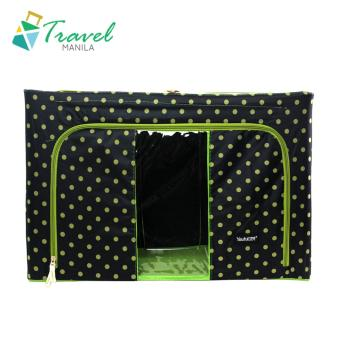 HOMU Clothes Blanket Storage Box Home Organizer 66L (Polka Black) Price Philippines