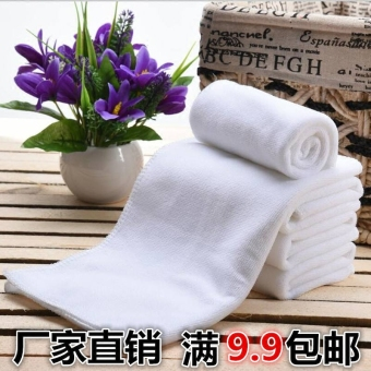 Hotel Foot Bath Square towel white towel