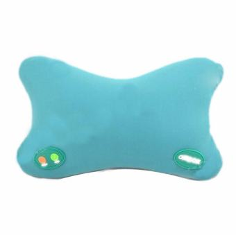 Household Car Vehicle Vibration Massage Head Rest Neck Pillow - intl