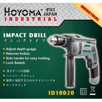 Hoyoma Japan Impact Drill 720W ID10020 (Grey/Black)