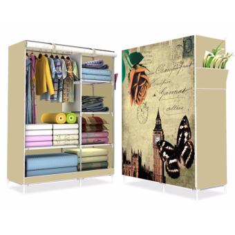 HS-6651 High Quality Cute 3D Design Wardrobe(Butterfly Design)