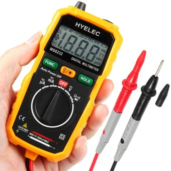 HYELEC MS8232 Non-Contact Mini Digital Multimeter DC AC Voltage Current Tester (Intl) - Intl