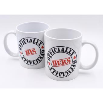 I am Wengski Couple Coffee Mugs Officially His/Hers