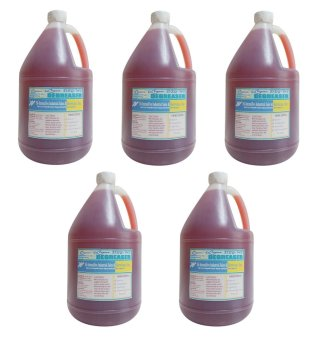 iChem Deg-Ws, Water Soluble Degreaser Reddish (Gallon) Set of 5