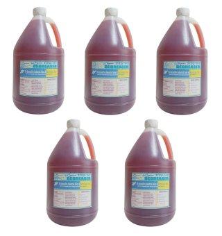 iChem Deg-Ws, Water Soluble Degreaser Reddish (Gallon) Set of 5
