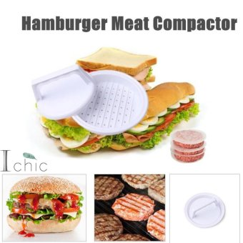 Ichic High Quality Plastic Hamburger Meat Compactor Press MoldGrill Burger Press Maker DIY Kitchen Tool - intl Price Philippines